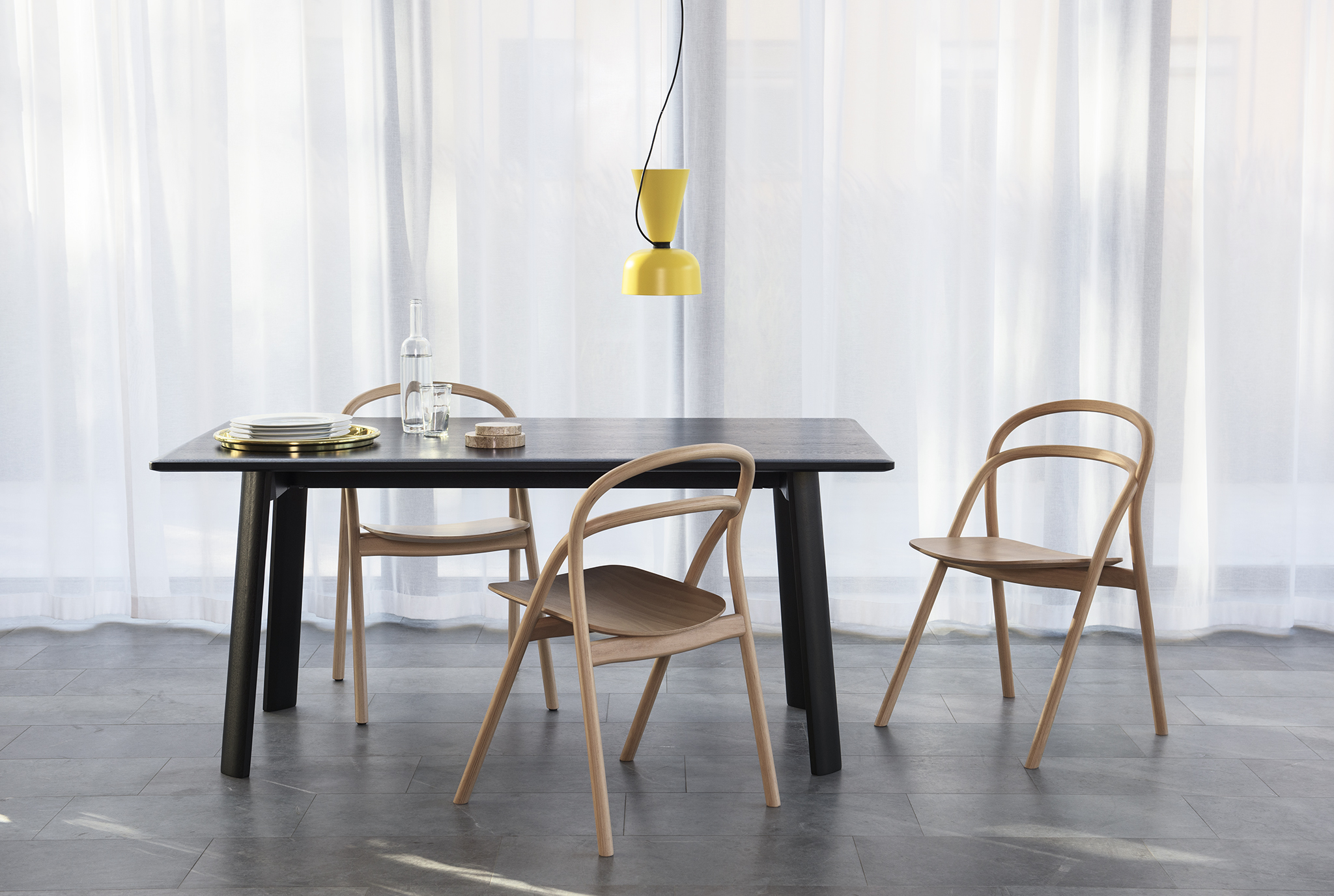 table and chairs from Hem. 7 furniture makers on the business challenges of their craft   Curbed