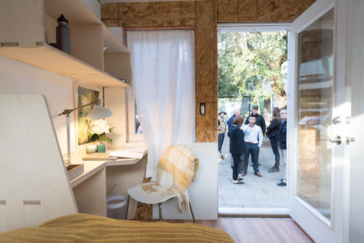 These $25K prefab tiny homes were designed to skirt zoning restrictions