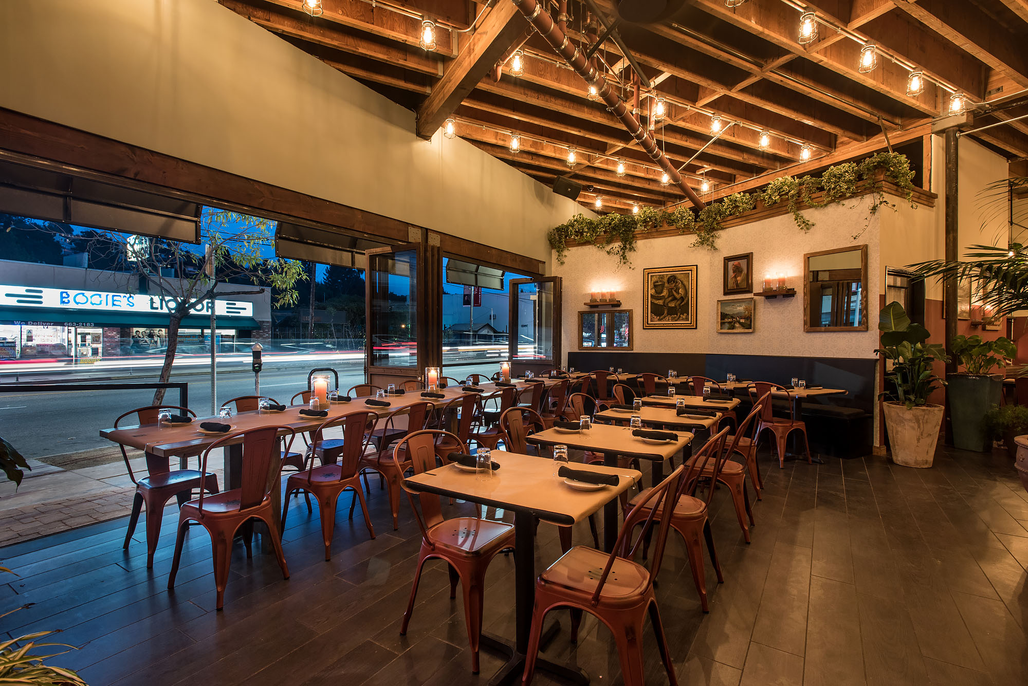 maré charms silver lake with low lighting and late nights - eater la