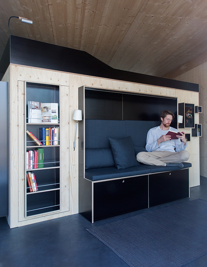 ... Home Comes Another All In One Furniture Solution For Small Apartments.  Much Like The Living Cube, Kammerspiel Offers A Bed Up Top And Plenty Of  Storage ... Amazing Pictures