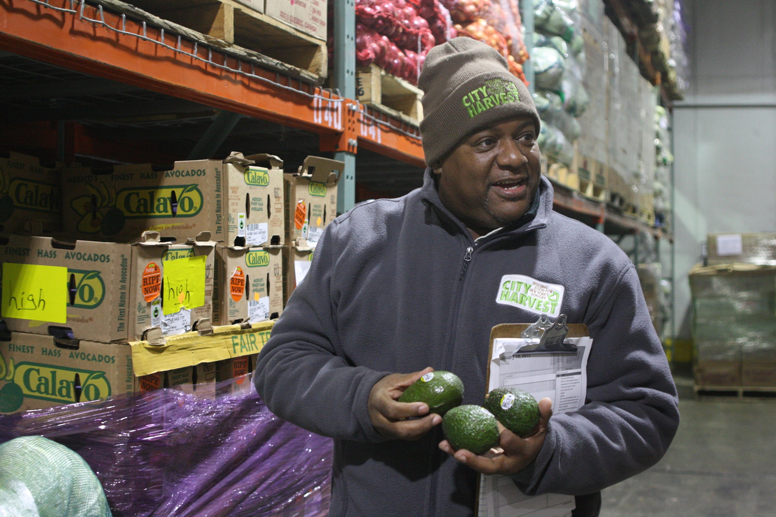 How City Harvest tackles food waste and feeds hungry New Yorkers