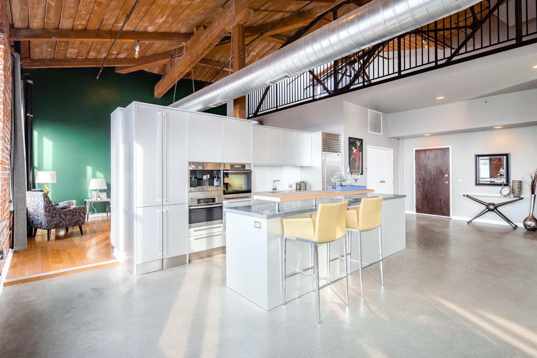 Cigar Factory penthouse loft in Northern Liberties asks $639K