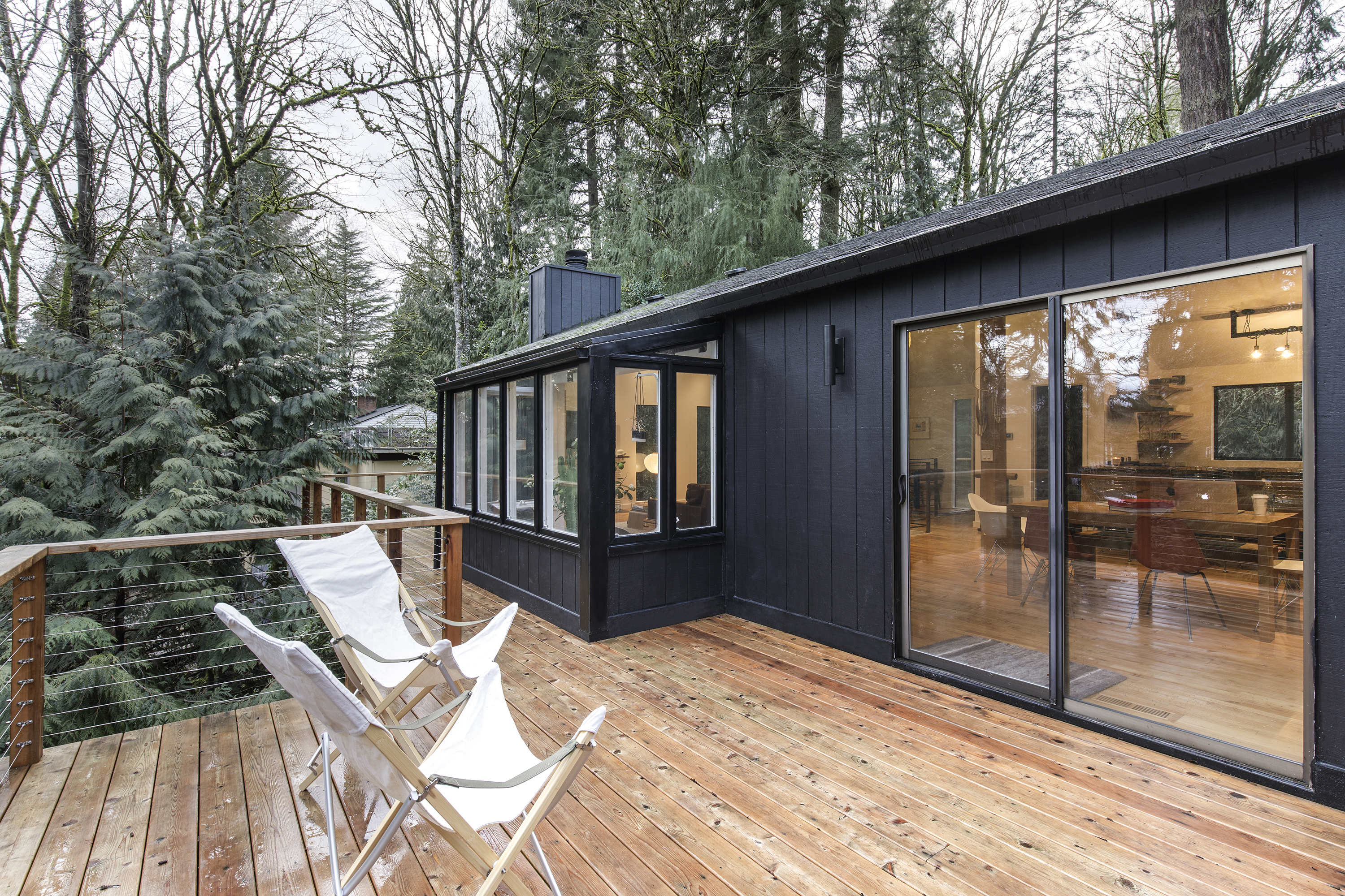 In Portland A Midcentury Ranch Shines Anew After Debonair Revamp Curbed