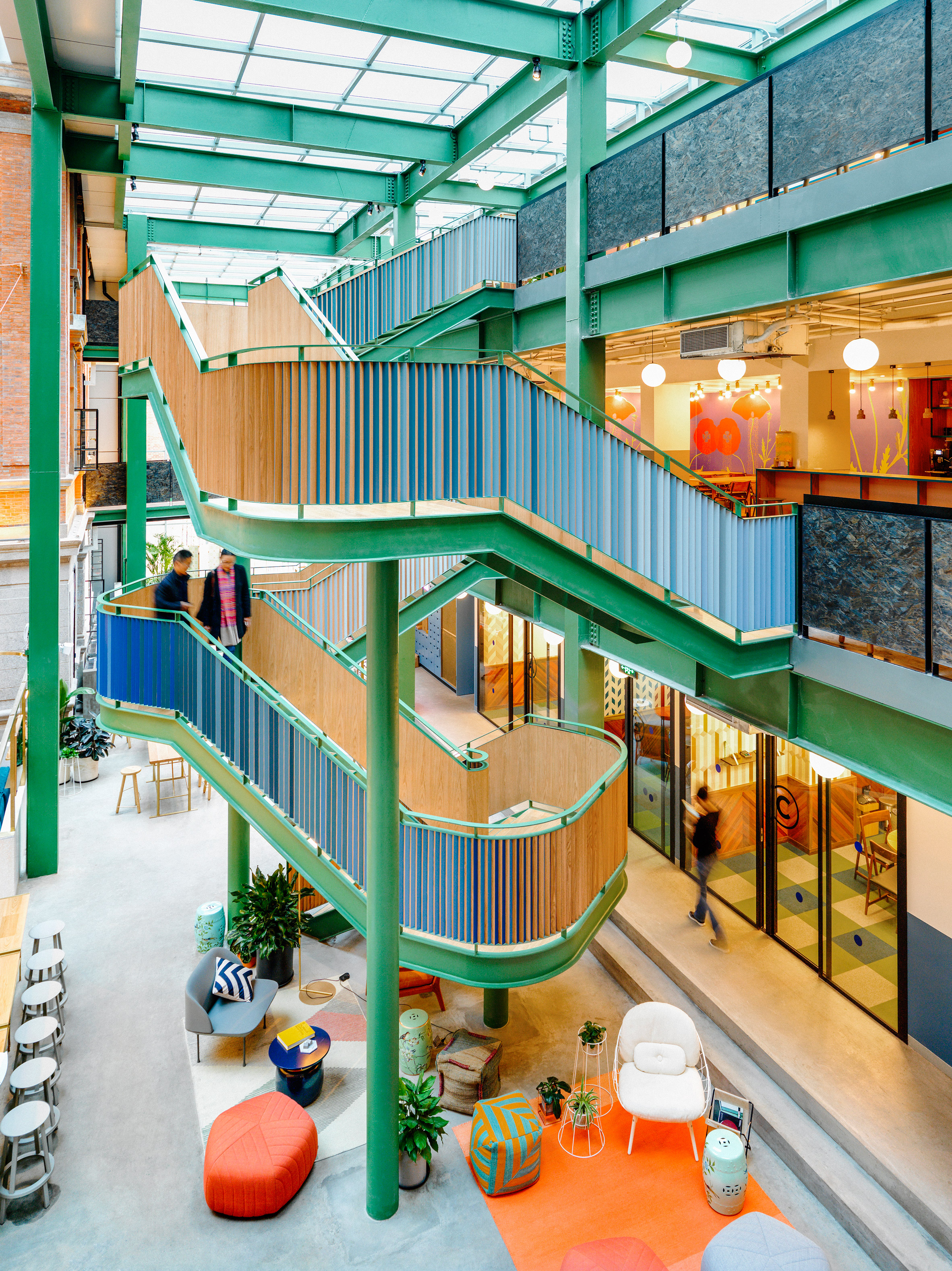 Wework S Chinese Flagship Opens In Former Opium Factory