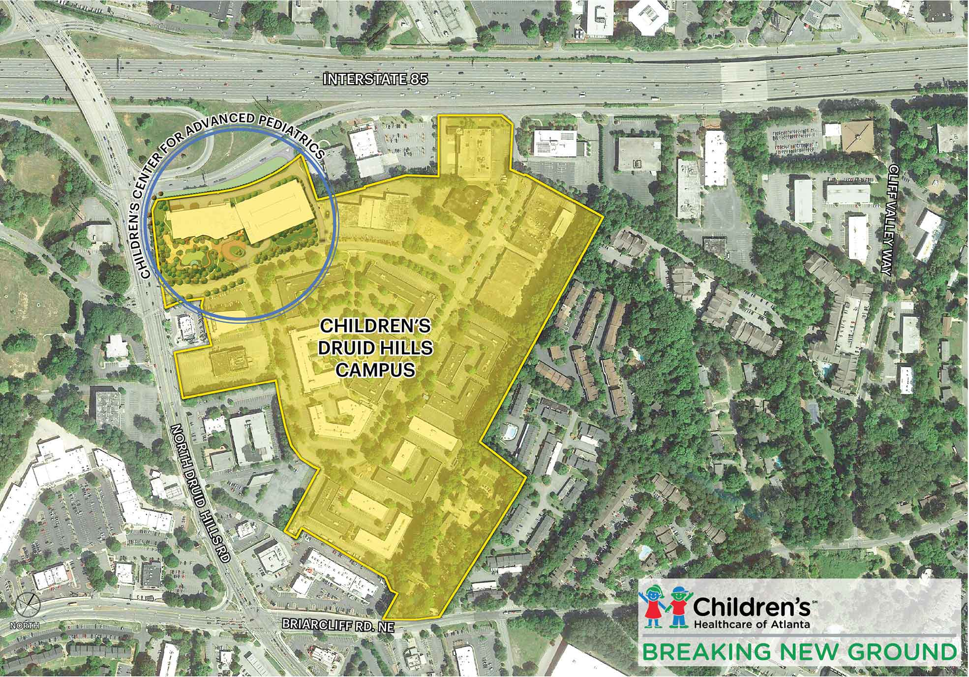 Brookhaven To See Construction Of B Childrens Hospital Curbed - Brookhaven ga on us map