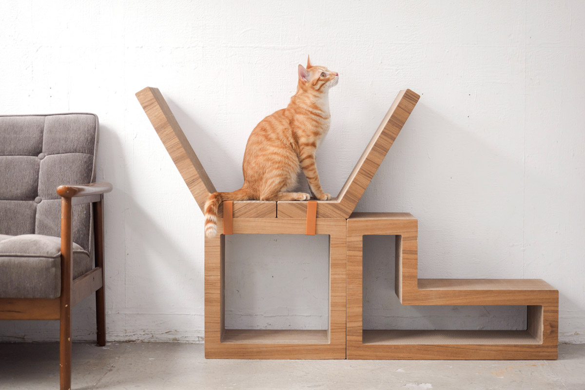Modular furniture - The 5 Block Modular Cat Tree Currently Costs 199 95 Has Received Favorable Reviews And Is Available On Amazon
