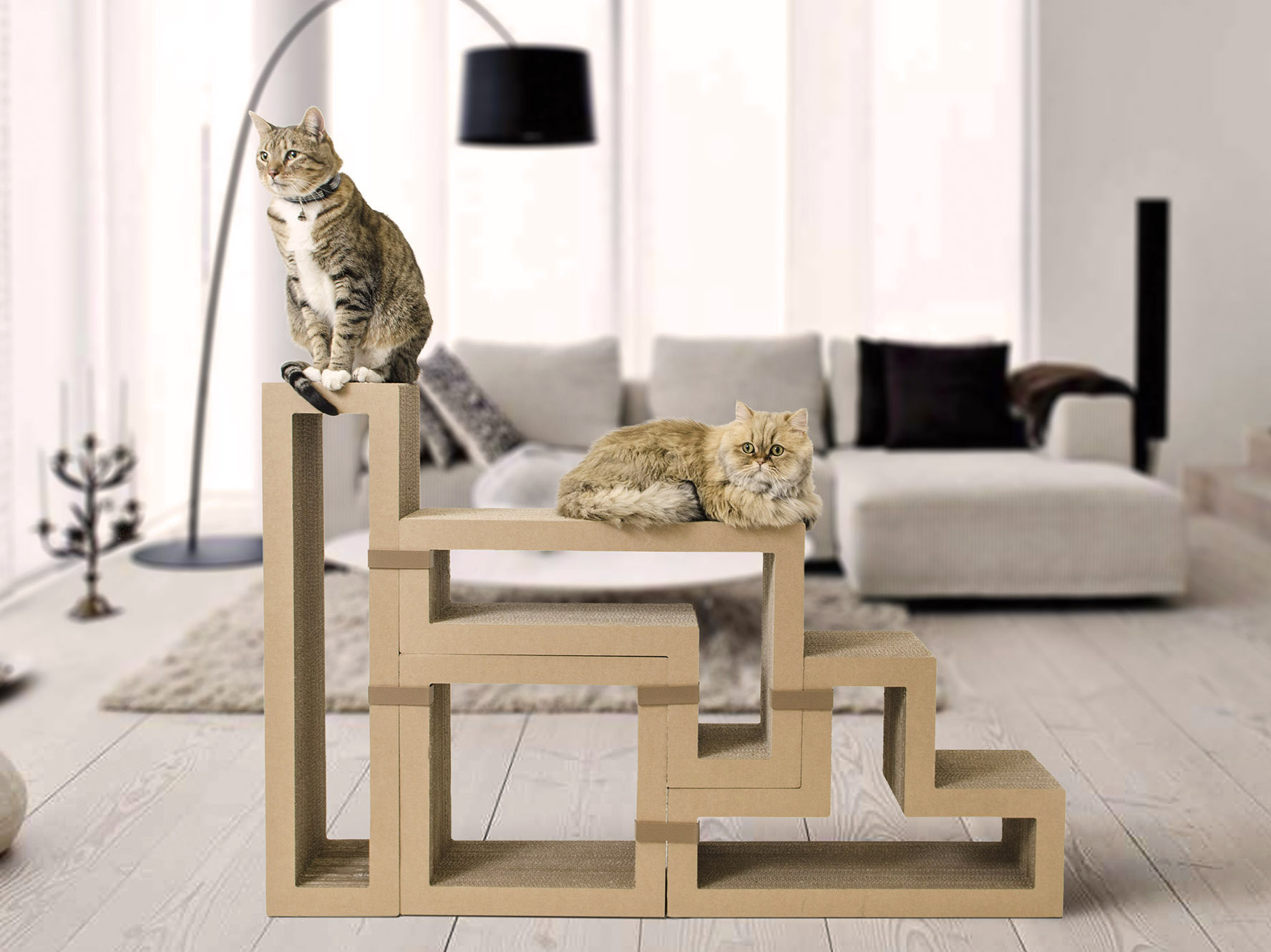 KATRIS Isu2026 A Cat Scratching Post, A Bookshelf, A Coffee Table, A Cat Tree U2013  Itu0027s Your Call!