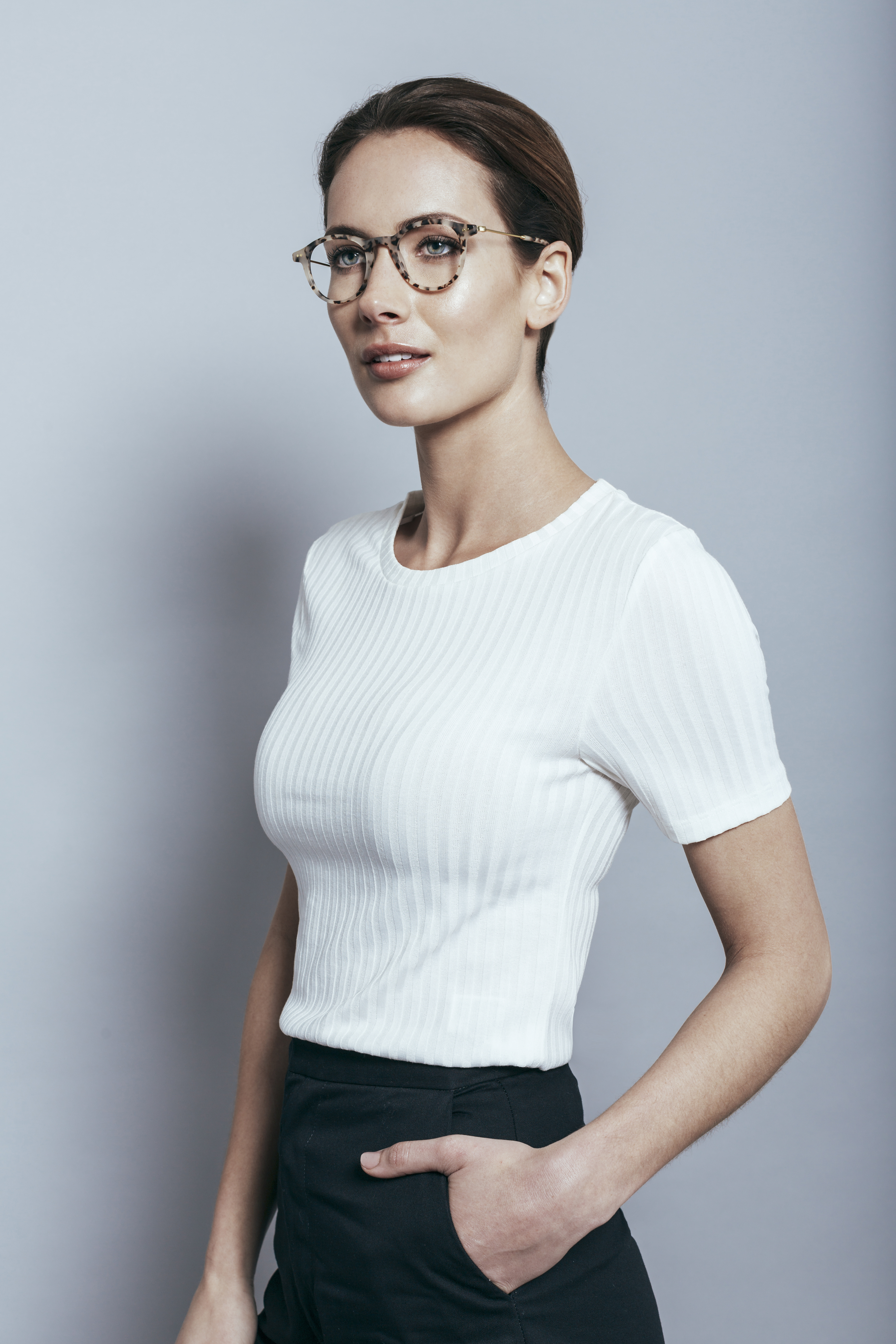 Just frames for glasses - A Woman Wears Krewe Du Optic Lenses