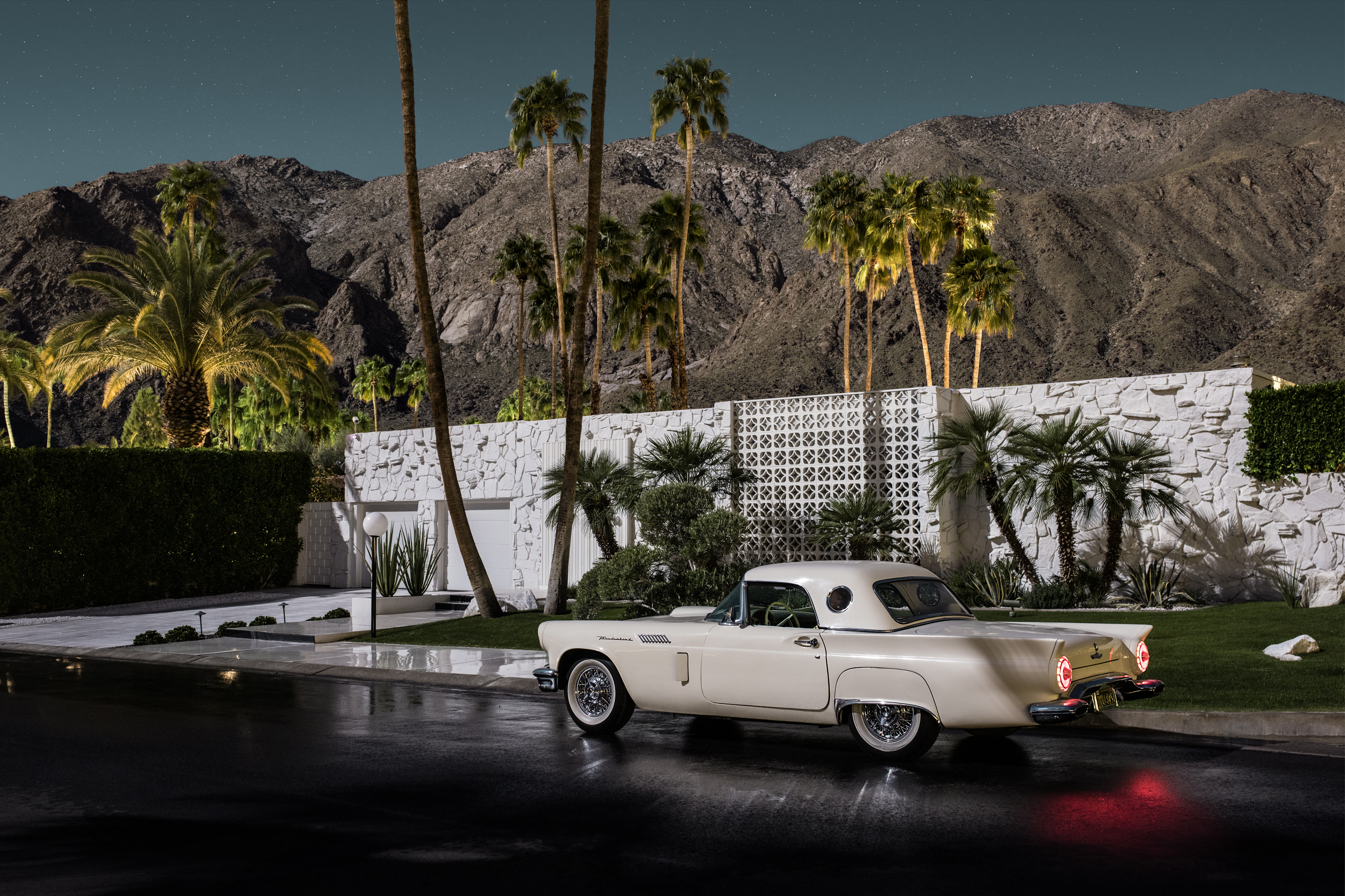 Midcentury by moonlight: Photographer's book showcases modern Palm Springs homes