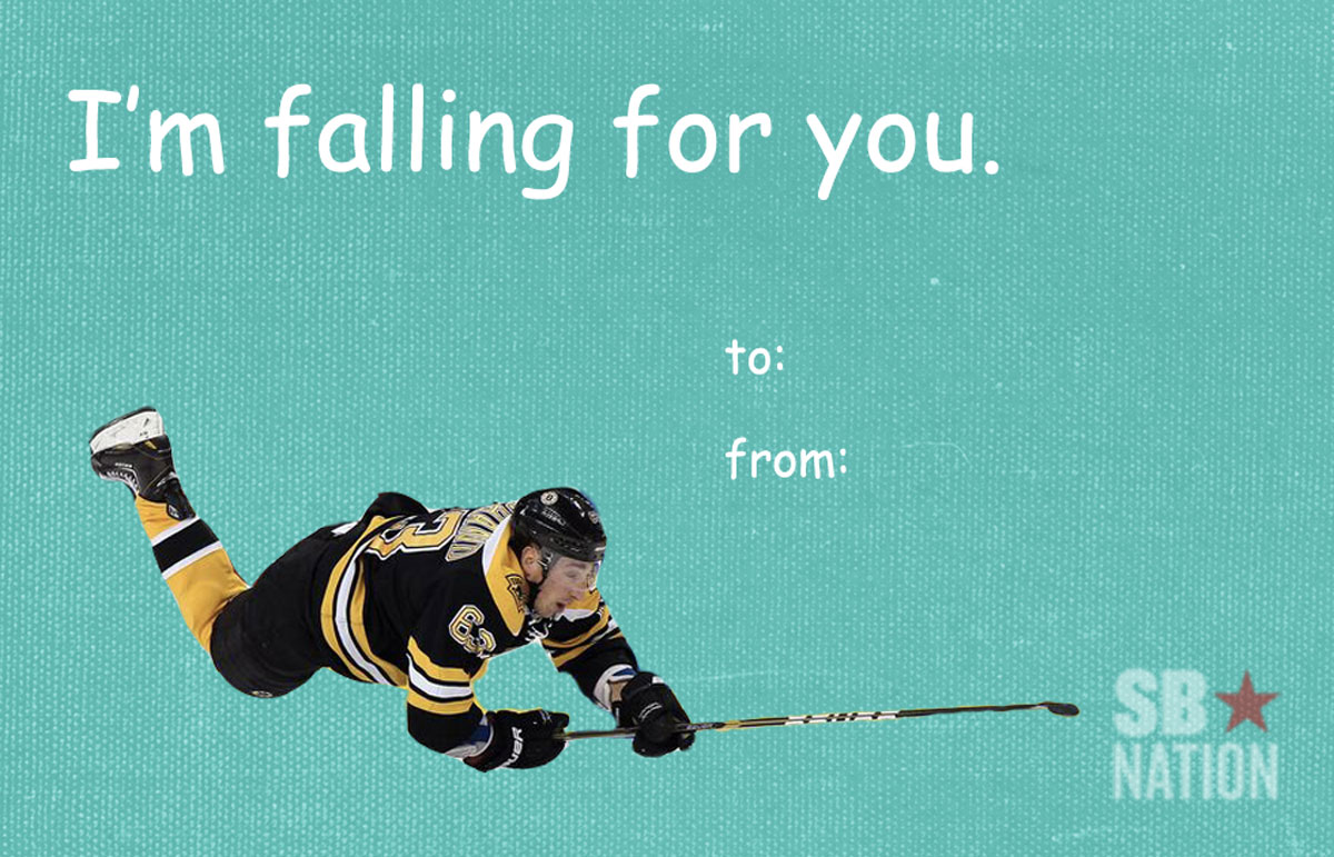 Send these hockey Valentines Day cards to your loved ones – Hockey Valentines Day Cards