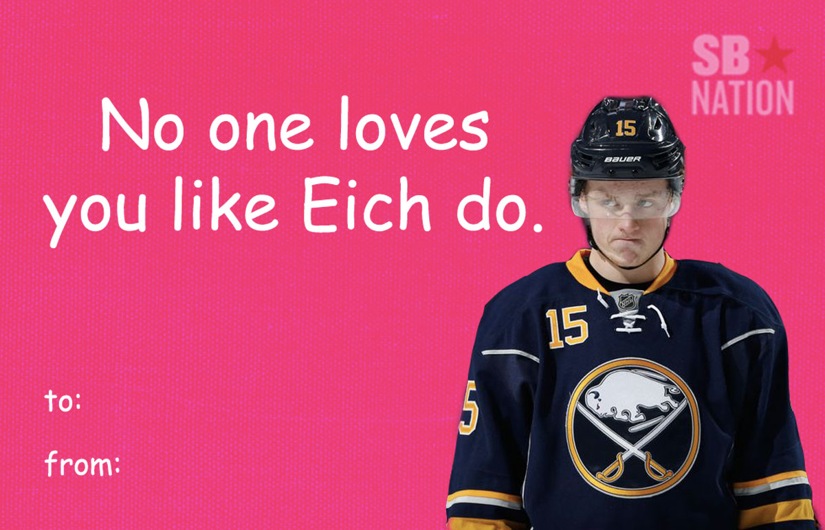 Send these hockey Valentines Day cards to your loved ones – Hockey Valentine Cards
