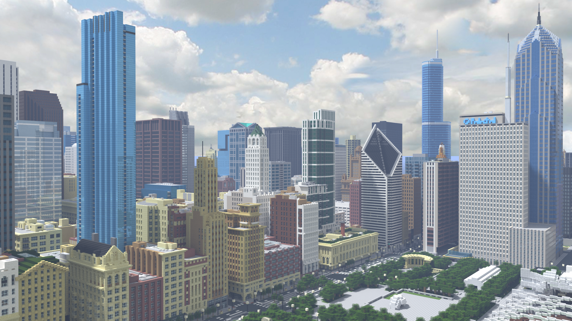 Recreating Chicagos famous skyline in Minecraft Curbed Chicago