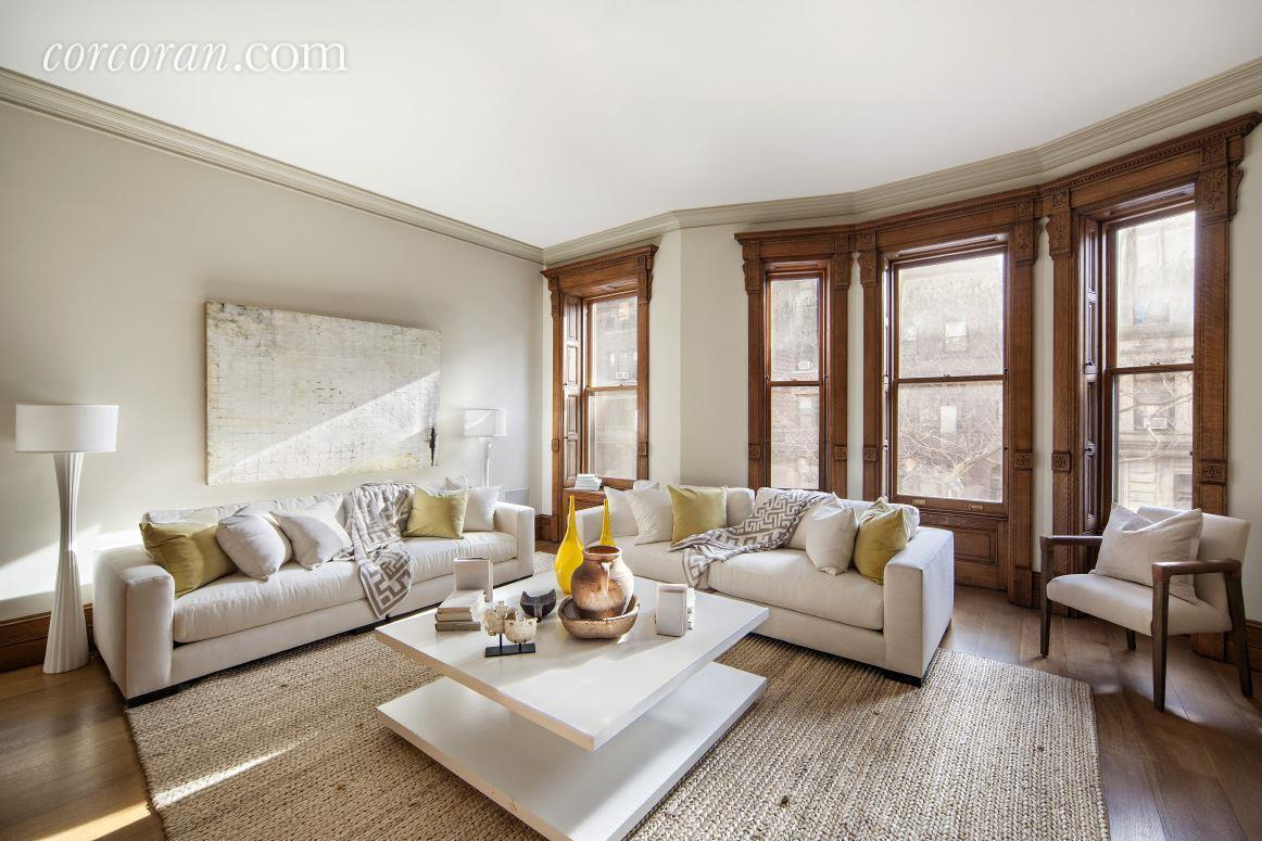 Glorious upper west side mansion with indoor basketball for Upper west side townhouse for sale