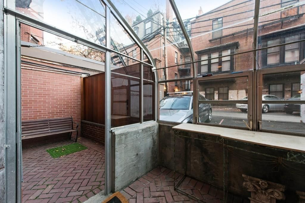 grand back bay duplex includes greenhouse mantels from