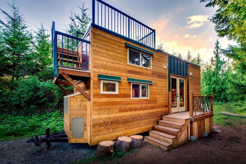 Attractive A Tiny House With Room For A (pet) Family
