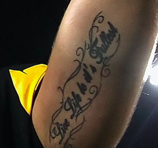 Tom brady 39 s face on your ass is a bad idea for a tattoo for Does tom brady have a tattoo