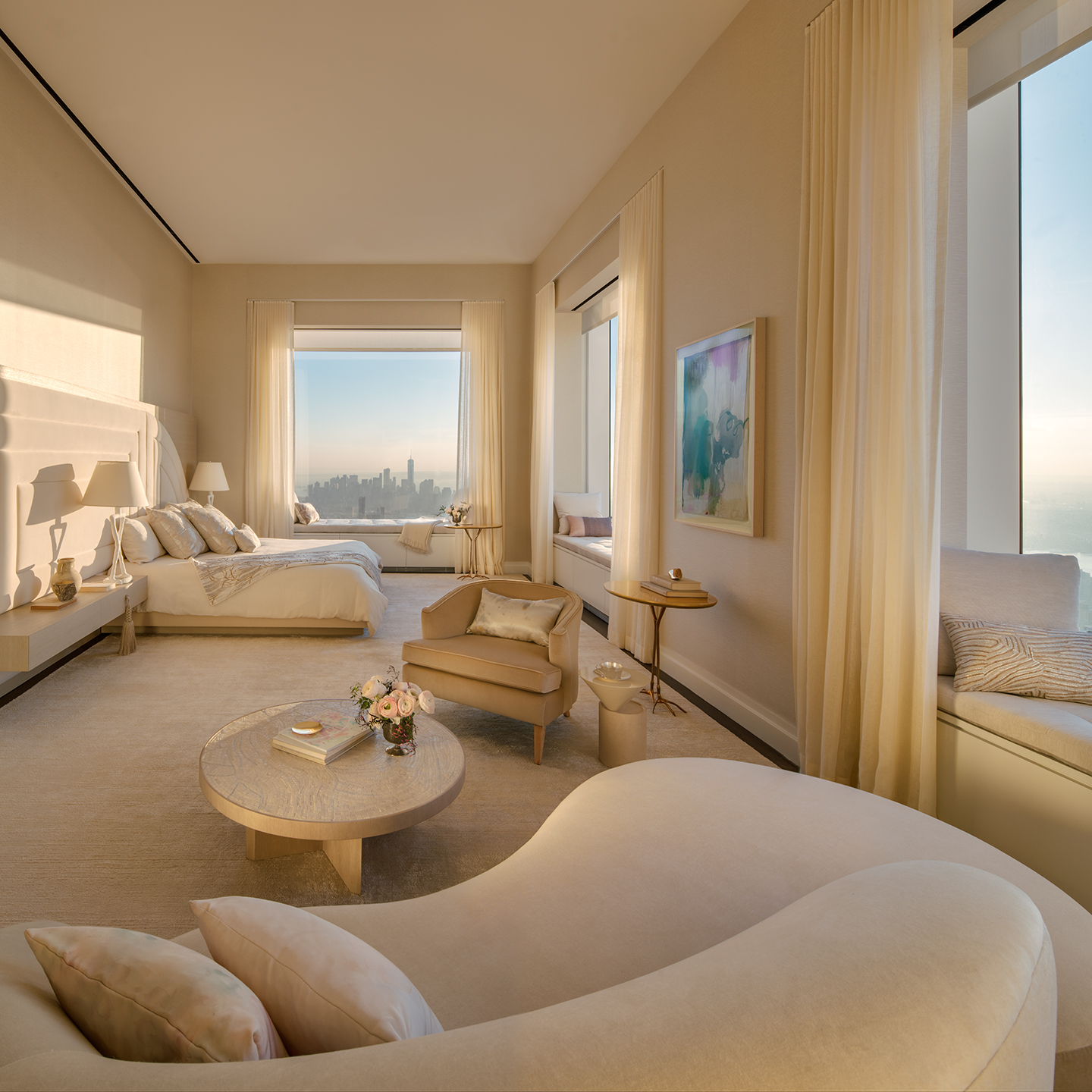 1 Br Apartments Nyc: Peek Inside 432 Park Avenue's $40M, 92nd-floor Penthouse