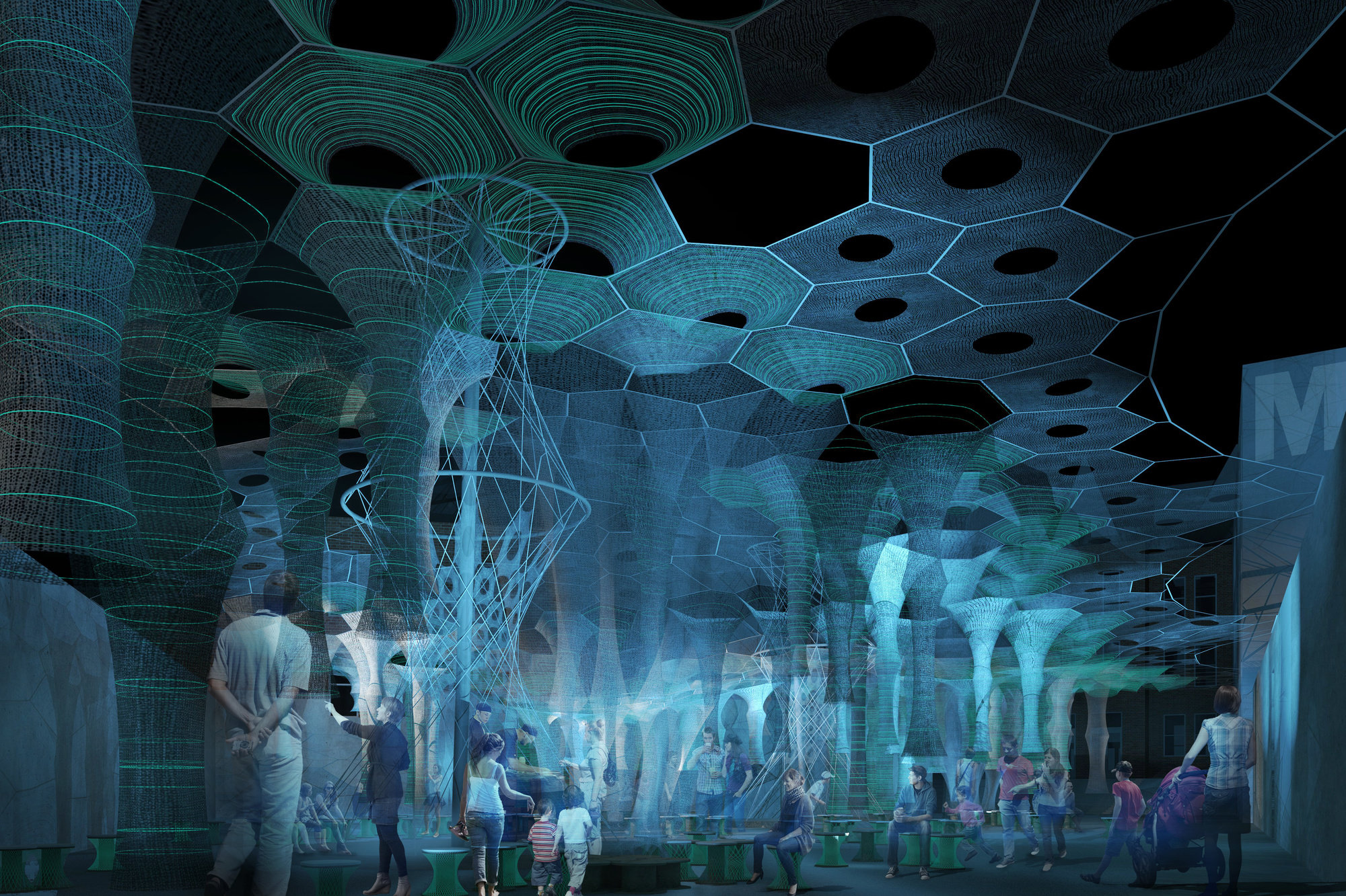 Moma Ps1 S Courtyard Will Be Transformed By A Robotically