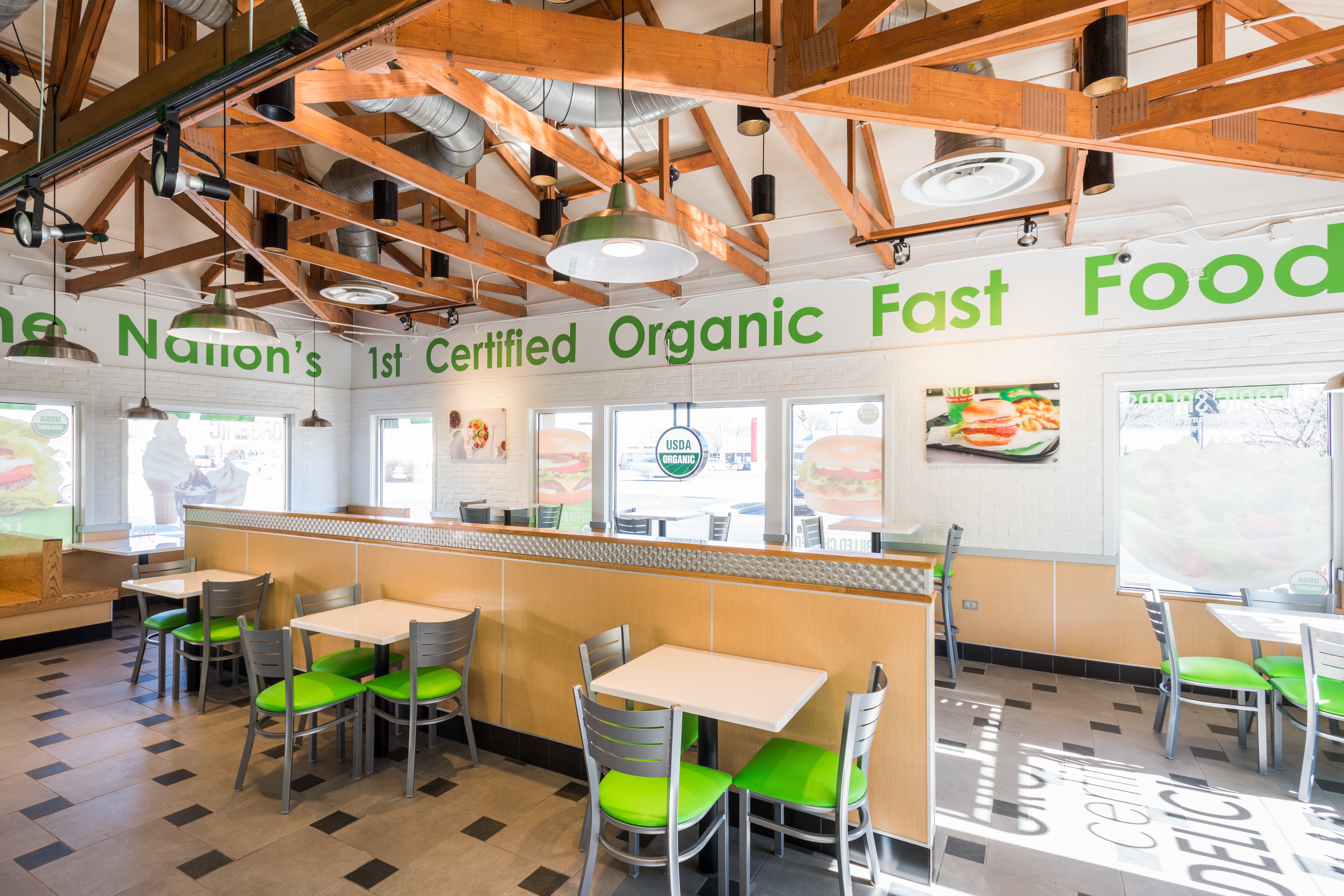 Tour The Very First Nicu0027s Organic Fast Food In Chicagou0027s Suburbs