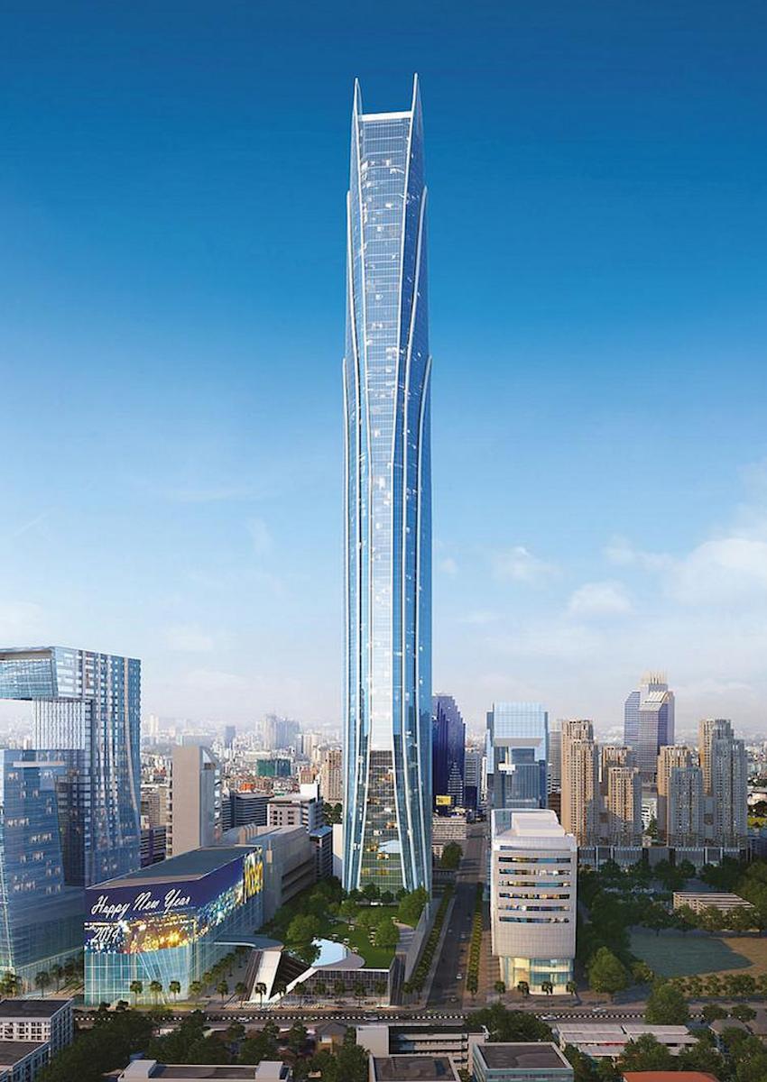 Tallest Buildings Under Construction Or In Development Around