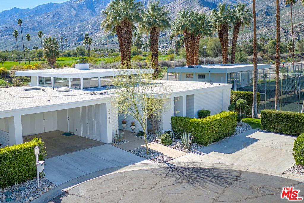 House Under Pool snag this renovated 1960s palm springs home with pool for under $1