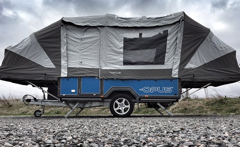 name air opus cost 2400 for the air tent system add on available for all opus trailers which range from 18999 to 22799 - Small Camper Trailer 2