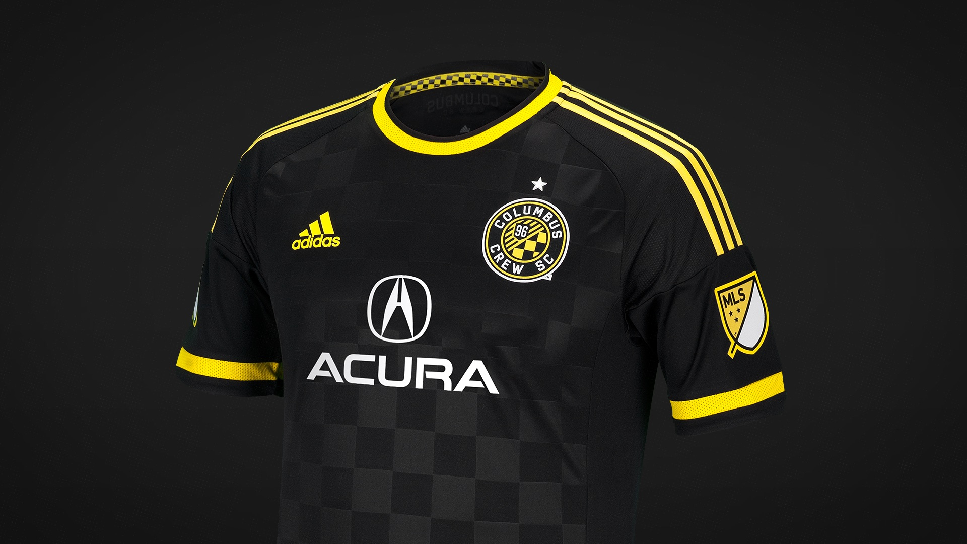 7f84eafc47d ... Crew SC unveiled a sharp black look that will contrast nicely with  their all-gold home kits. They moved away from the gold stripes and  checkered pattern ...
