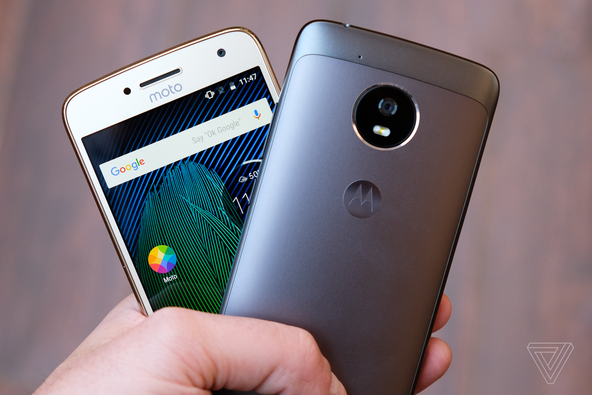 The Moto G5 and G5 Plus have metal designs and very ...