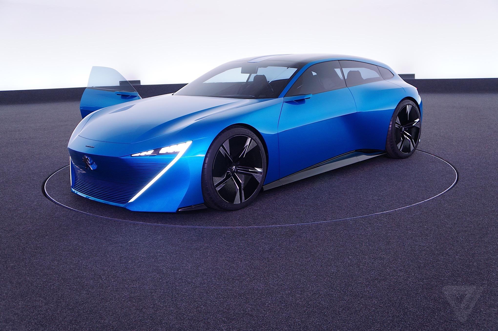 peugeot s instinct concept car is its vision of an autonomous near future the verge. Black Bedroom Furniture Sets. Home Design Ideas