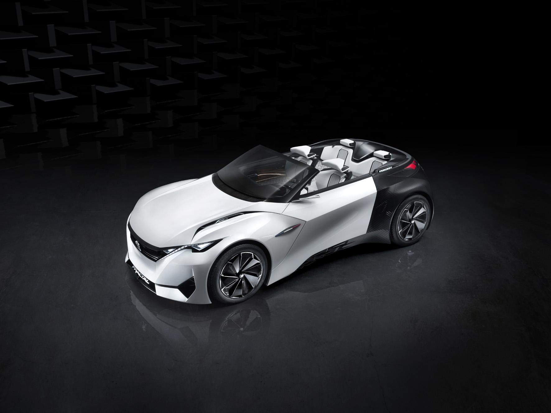 peugeot's instinct concept car is its vision of an autonomous near