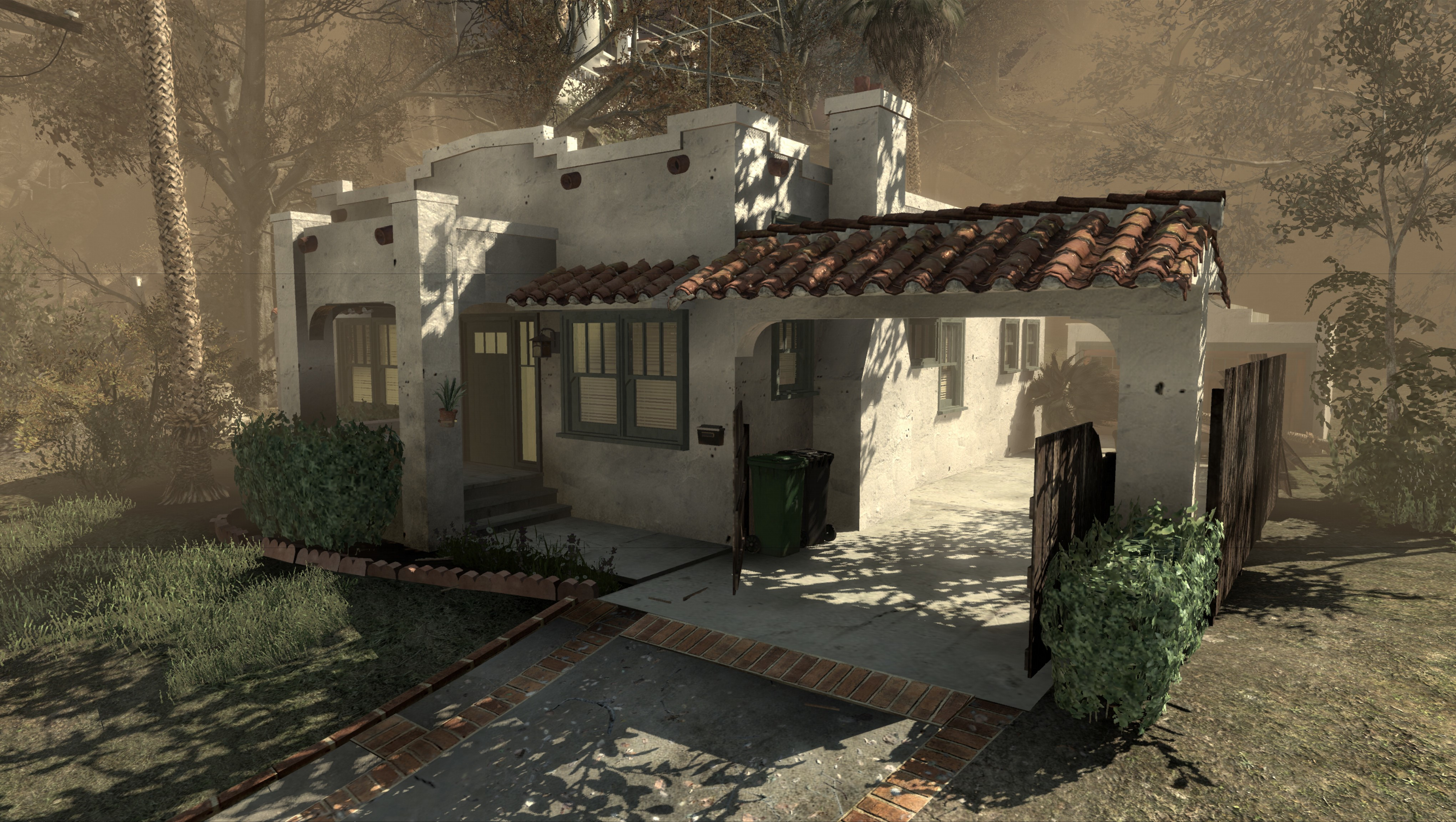 spanish-style that appears in 'call of duty: black ops' is for