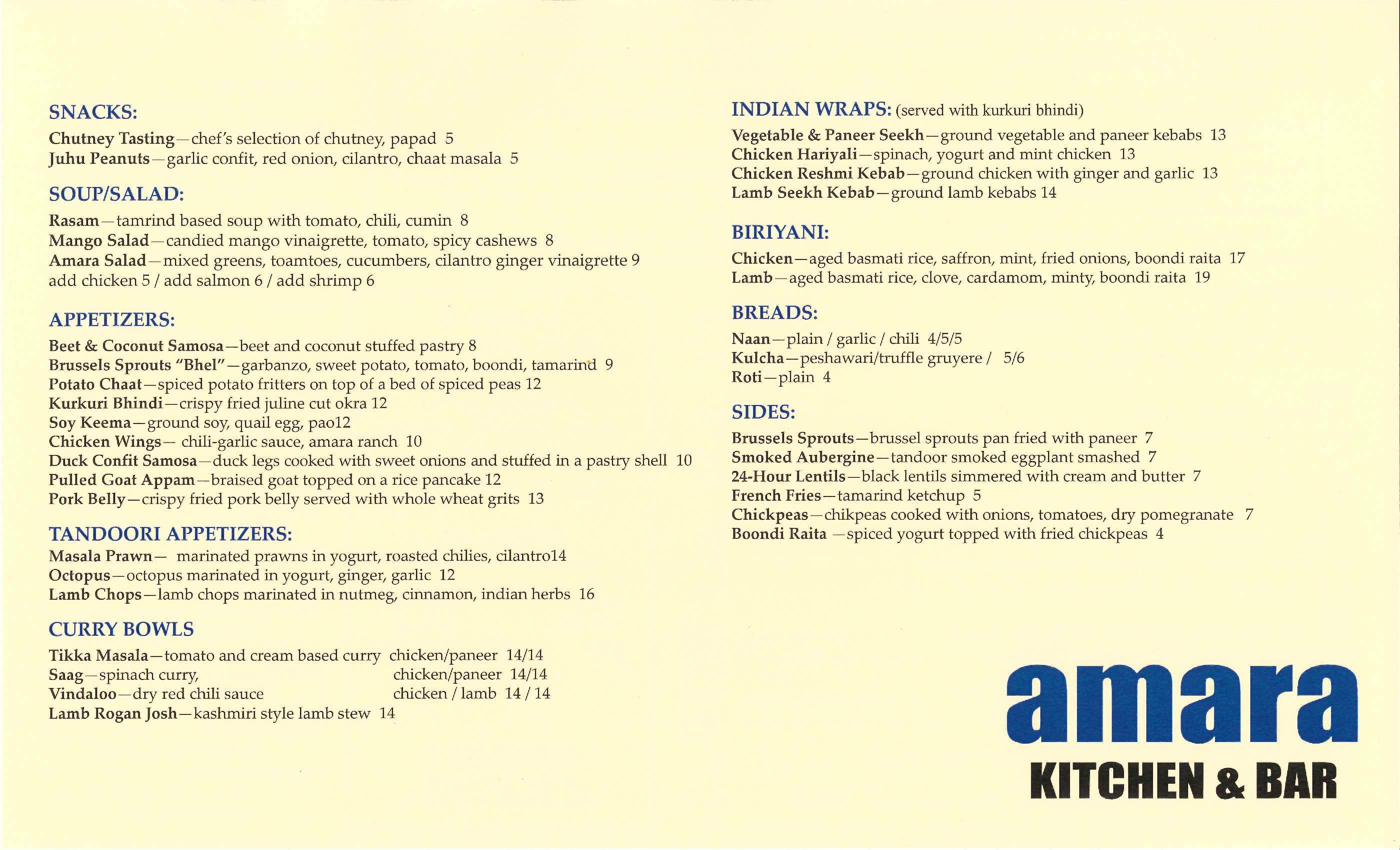 chef bhavesh patel is out at amara updated eater atlanta