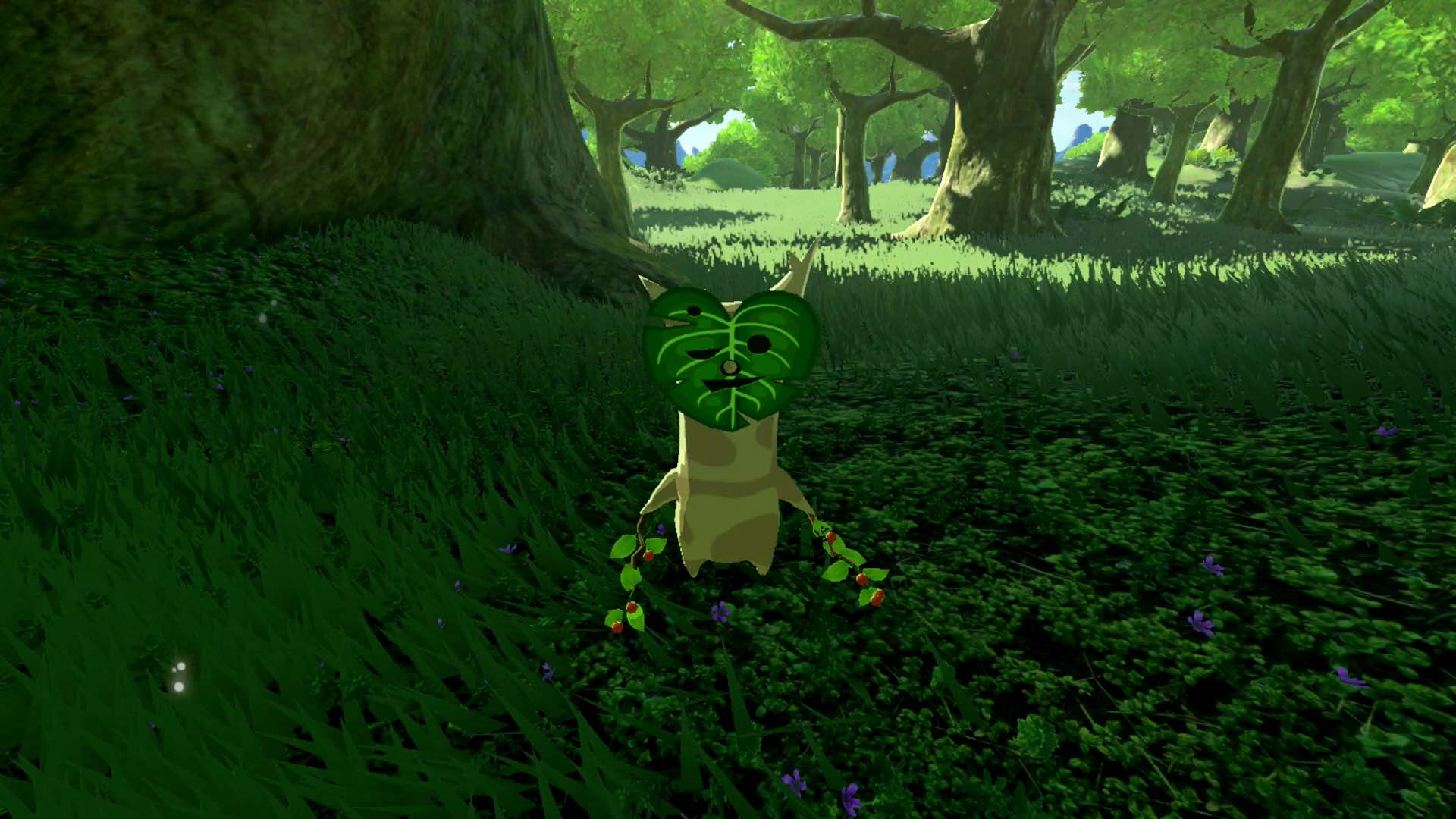 how to leave korok forest