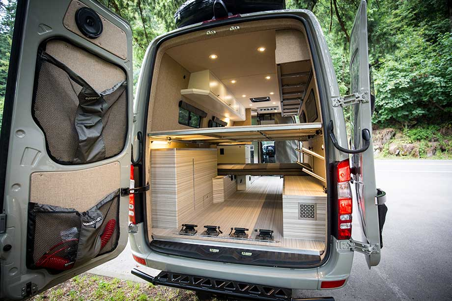 Bespoke Camping Van Brings Luxury To The Outdoors Curbed