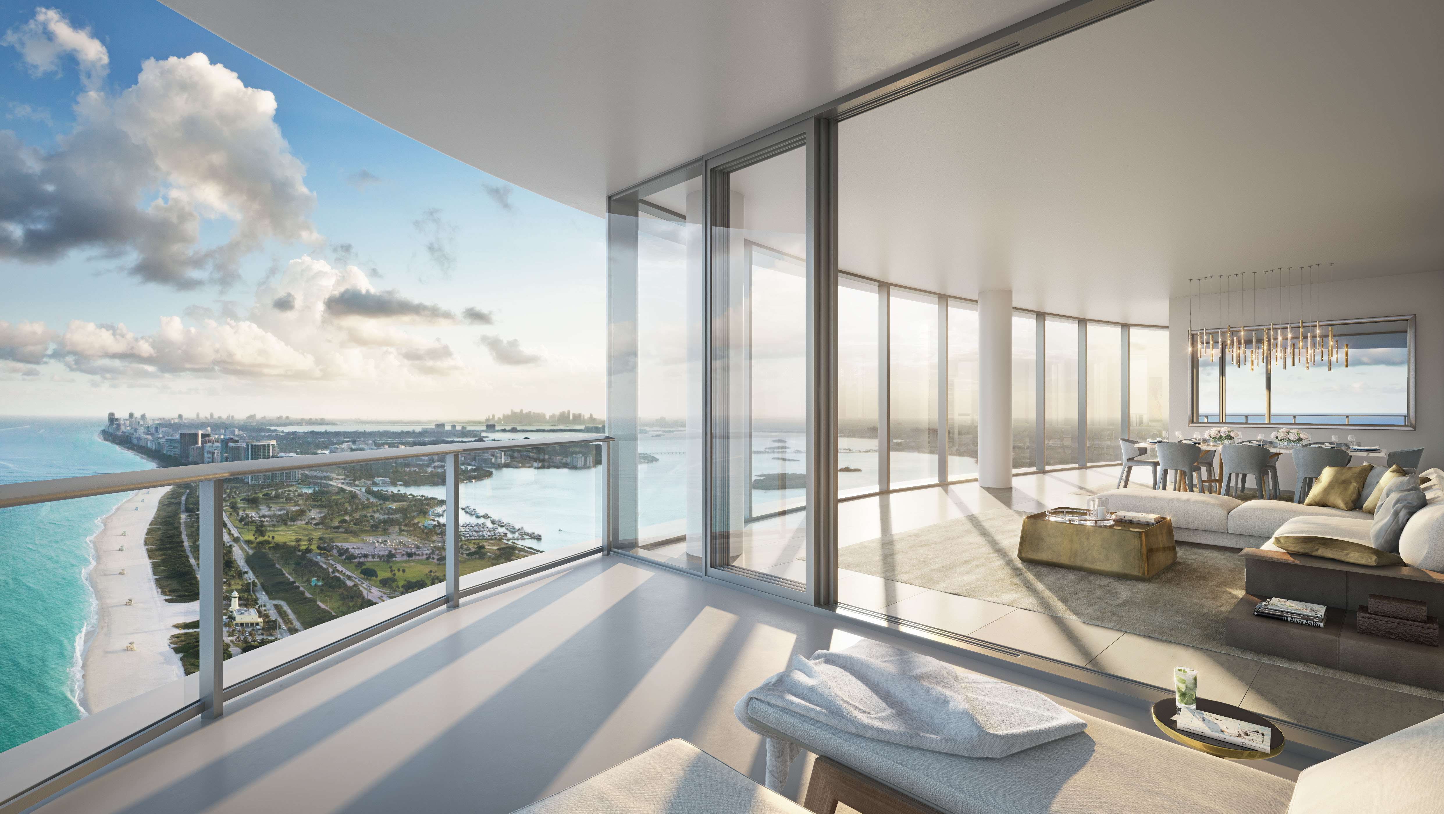 Genial ... Muse Residences, Estates At Acqualina, Turnberry Ocean Club, Residences  By Armani/Casa, And The Newly Finished Porsche Design Tower.