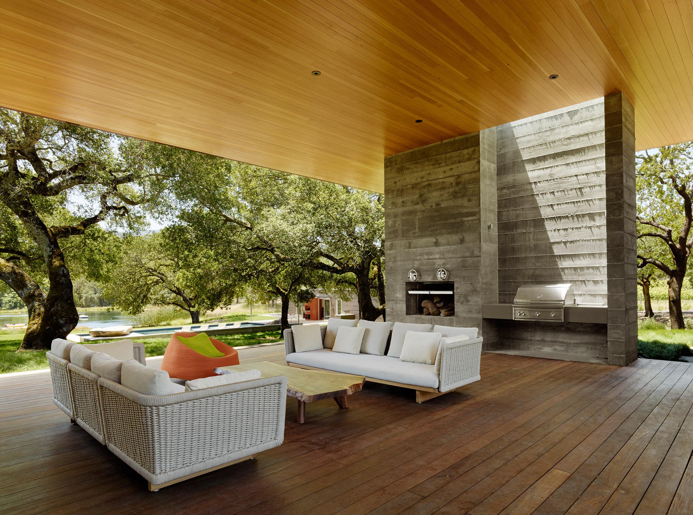 Net-zero California wine country home is all indoor-outdoor living ...