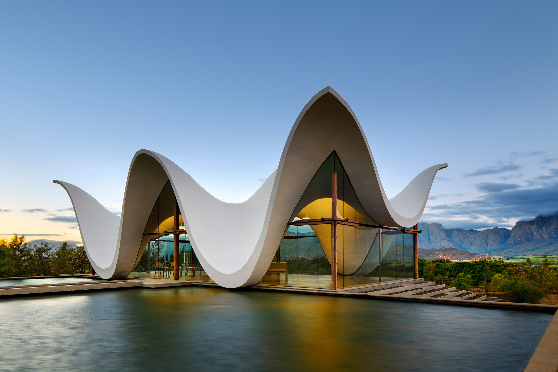 Bosjes Chapel In South Africa Features A Sculptural