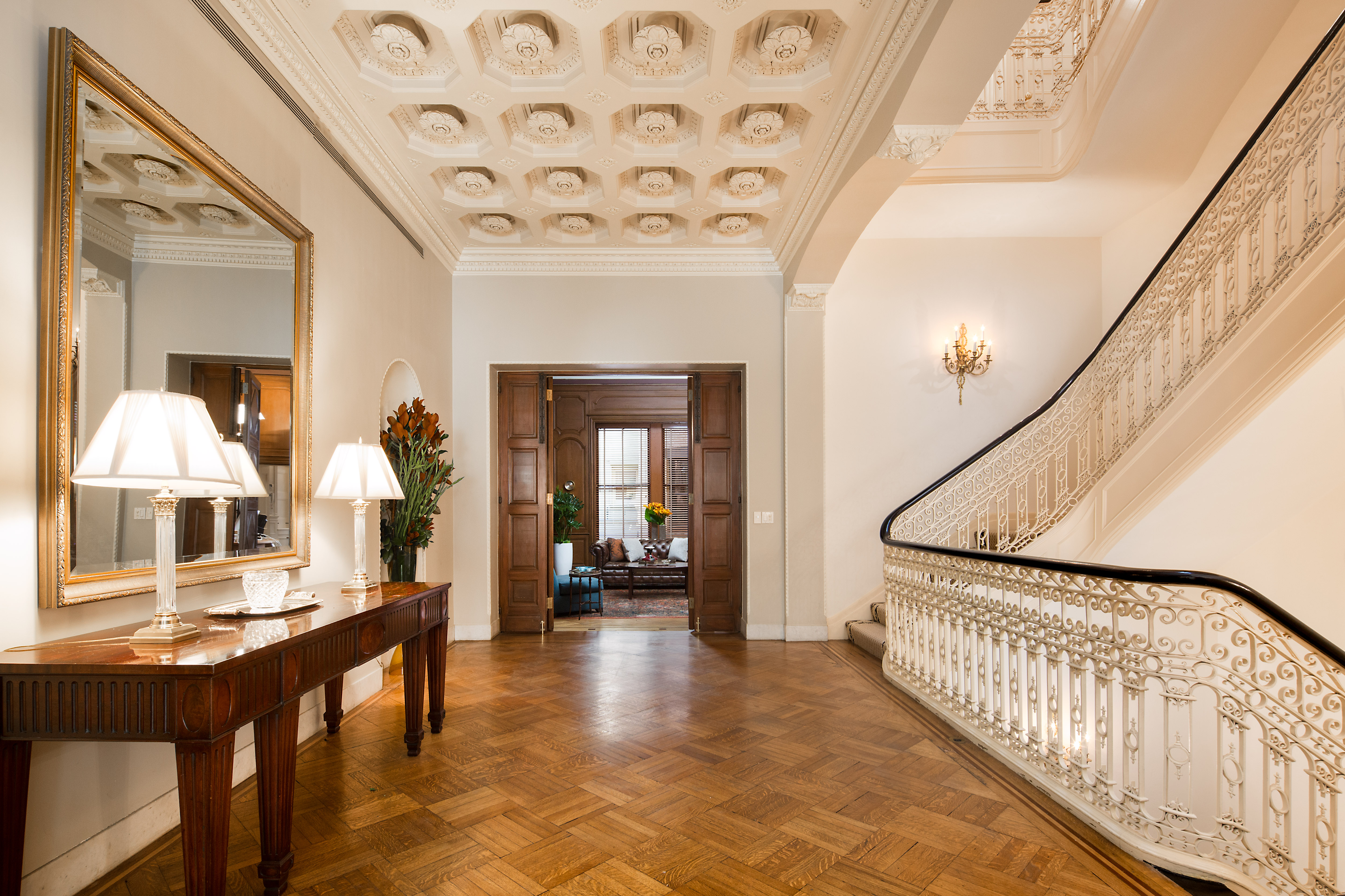 Opulent upper east side townhouse with secret tunnels for Upper east side penthouses for sale