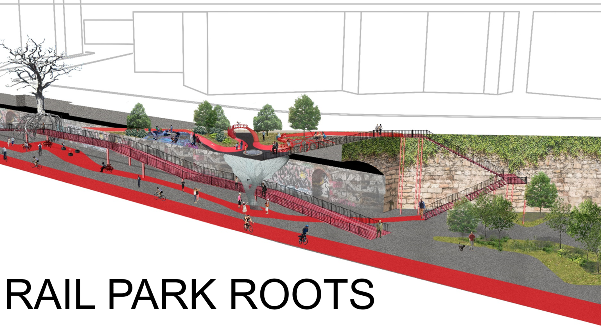 See The Winning Rail Park Tunnel Designs For The Better