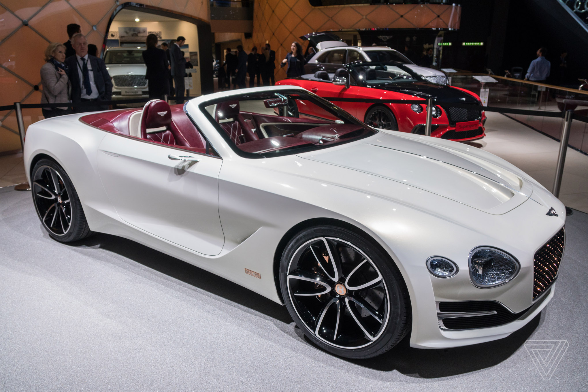 bentley challenges tesla s idea of electric luxury with a gorgeous new concept car the verge. Black Bedroom Furniture Sets. Home Design Ideas