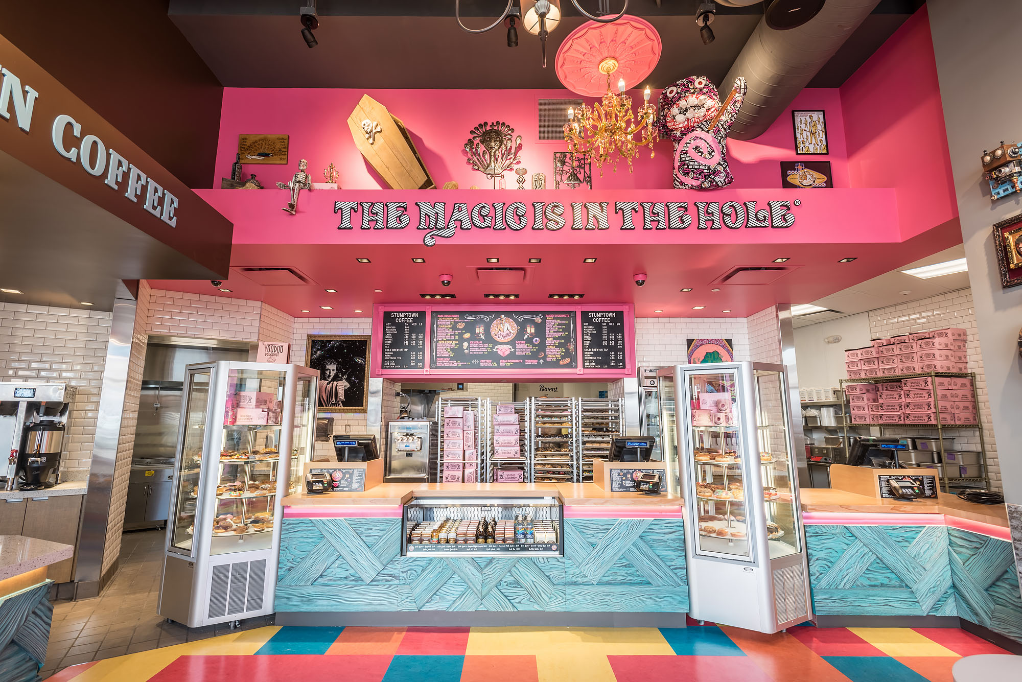 voodoo doughnut spellbinds today at universal citywalk in la eater la. Black Bedroom Furniture Sets. Home Design Ideas
