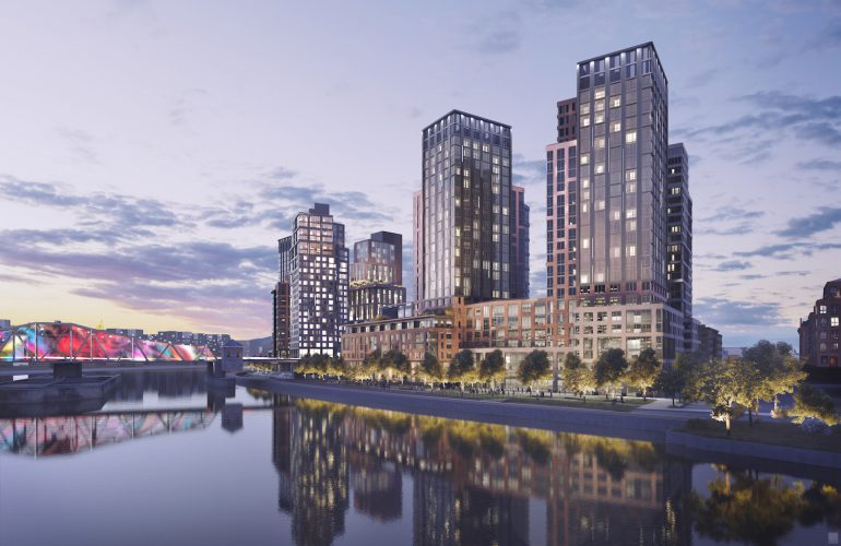 South Bronx S Waterfront Changing 1 300 Unit Rental Gets