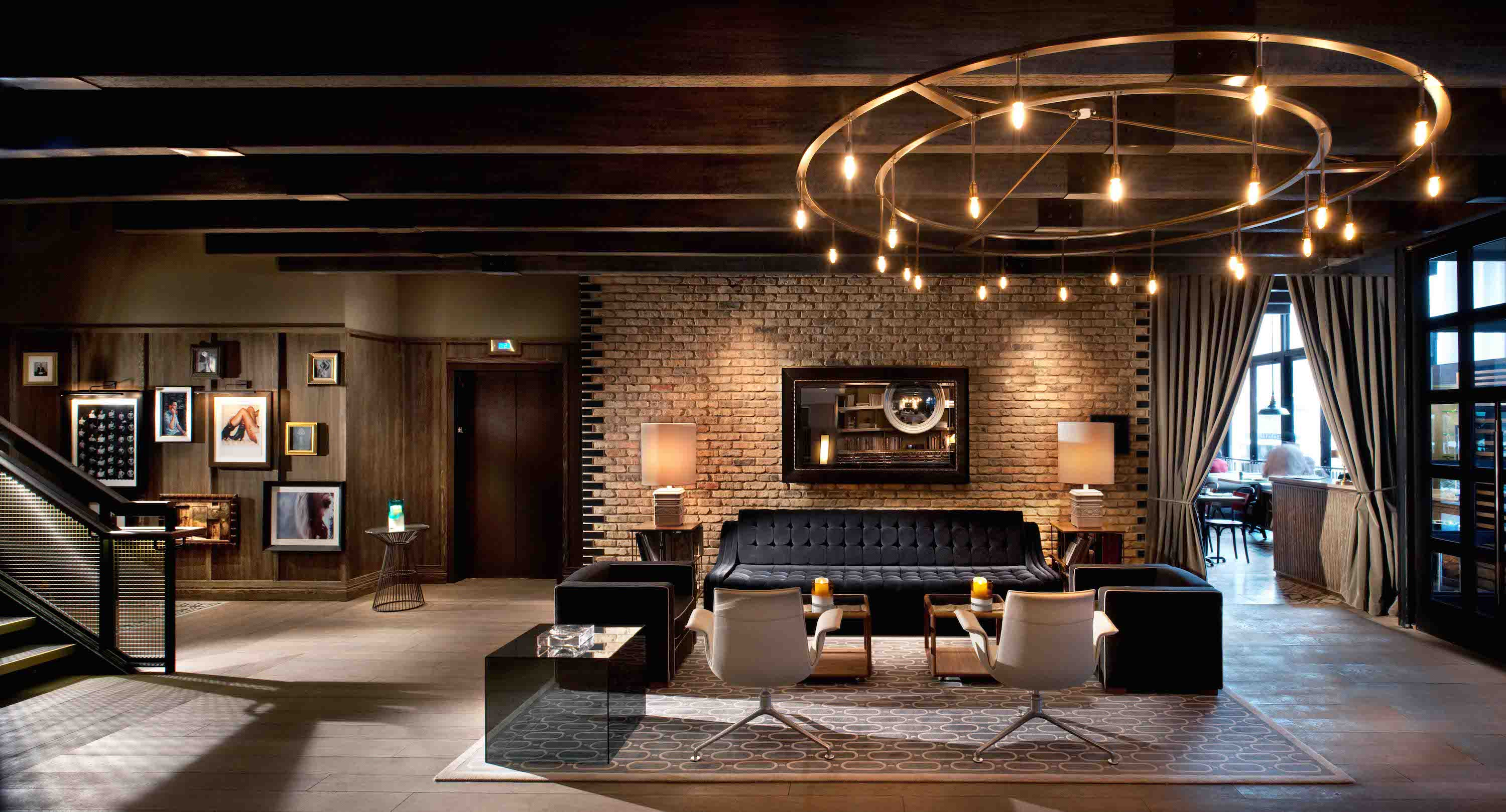 Interior designer tara bernerd on how to do luxury with for Industrial hotel design