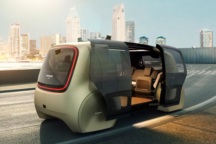 Volkswagen Unveils Sedric Driverless Car Concept Curbed