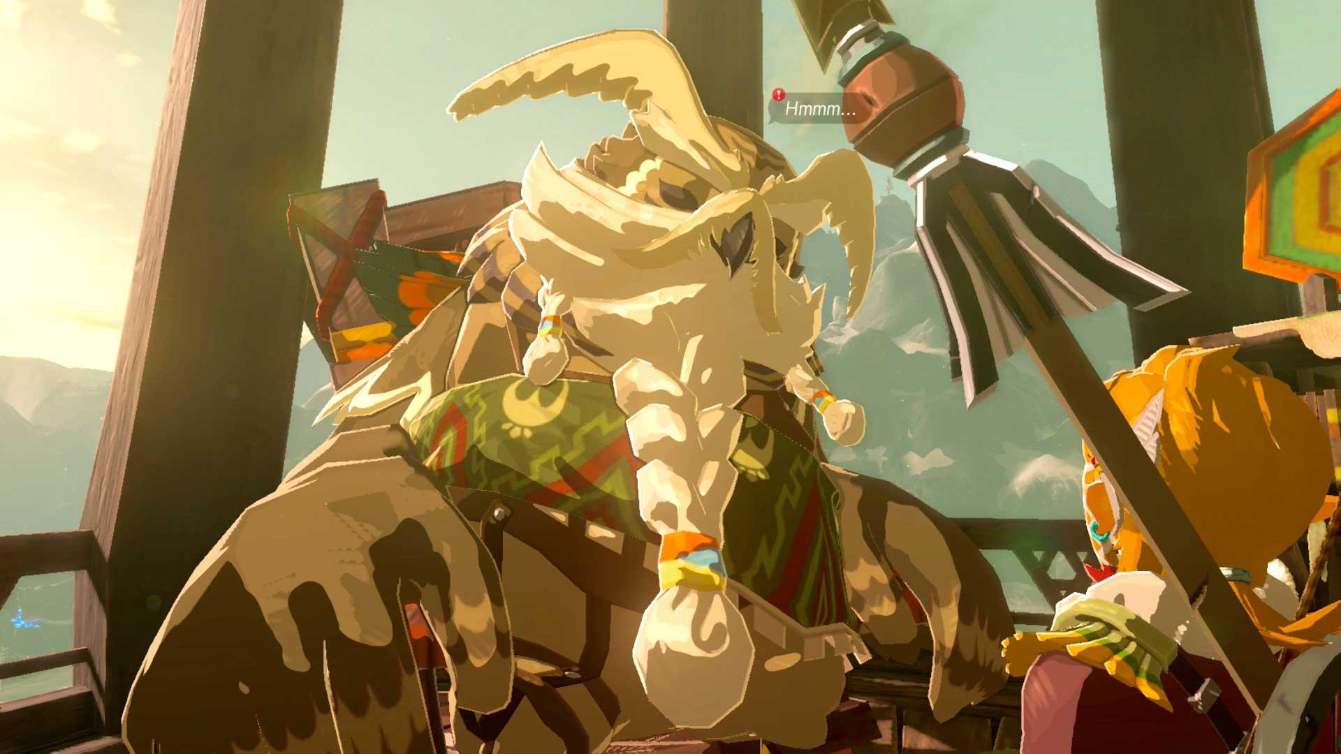 The Legend Of Zelda Breath Of The Wild Divine Beast