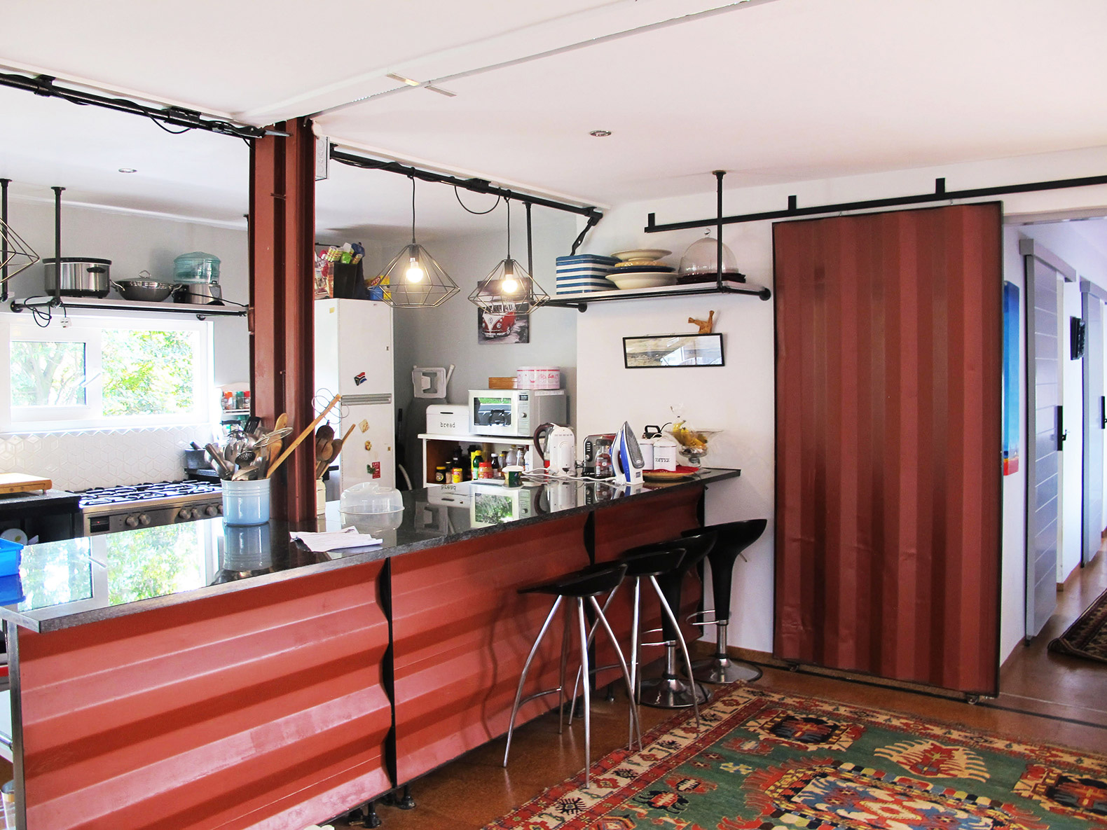 Shipping Containers Repurposed For Off Grid Home In South