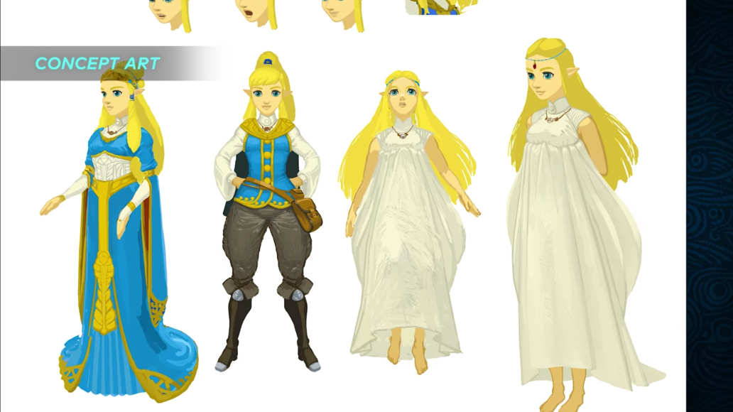 Zelda Character Design Breath Of The Wild : Check out breath of the wild s link and zelda transition