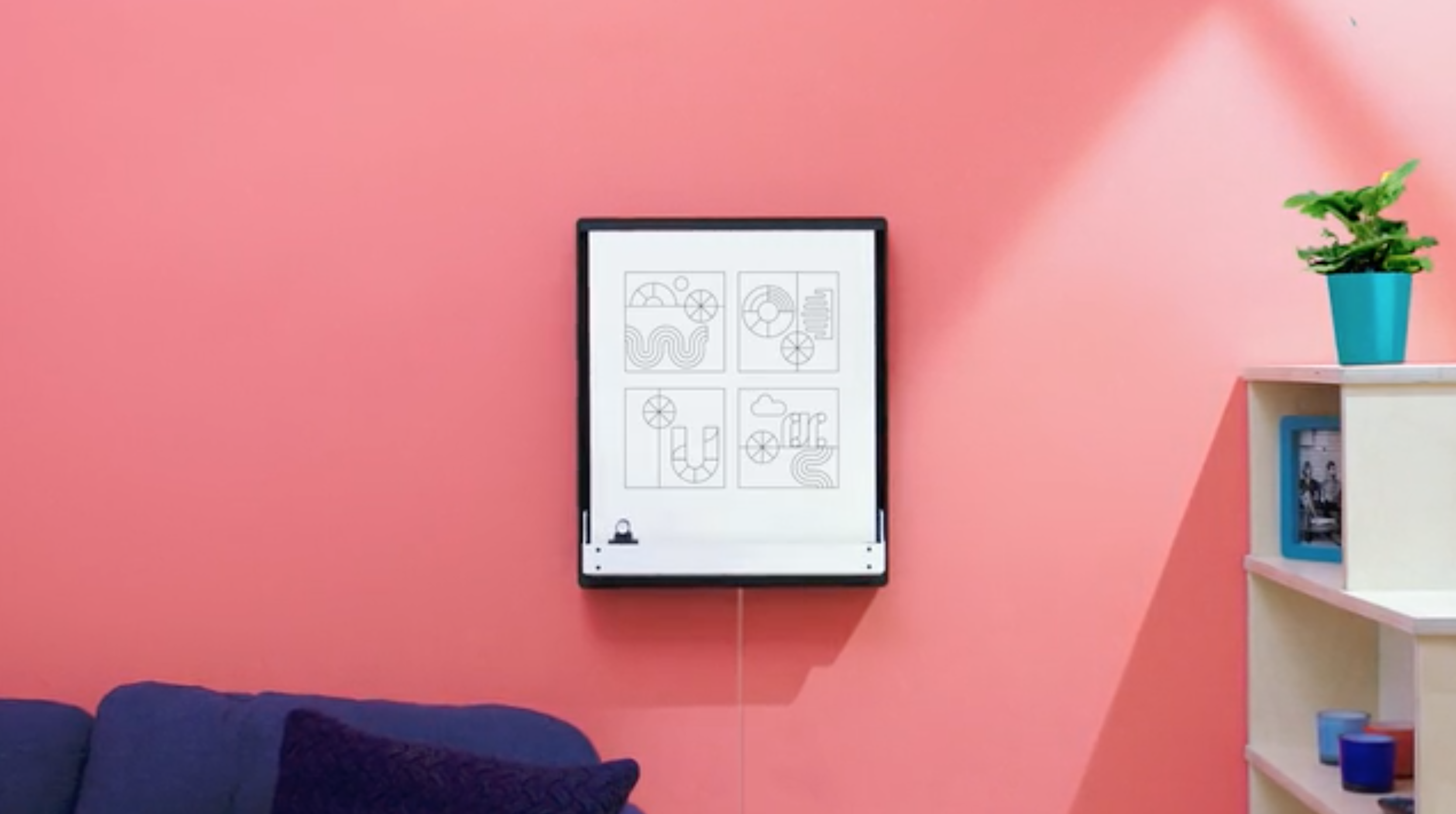 Joto is a robotic whiteboard that can draw your tweets and Slack messages in real life