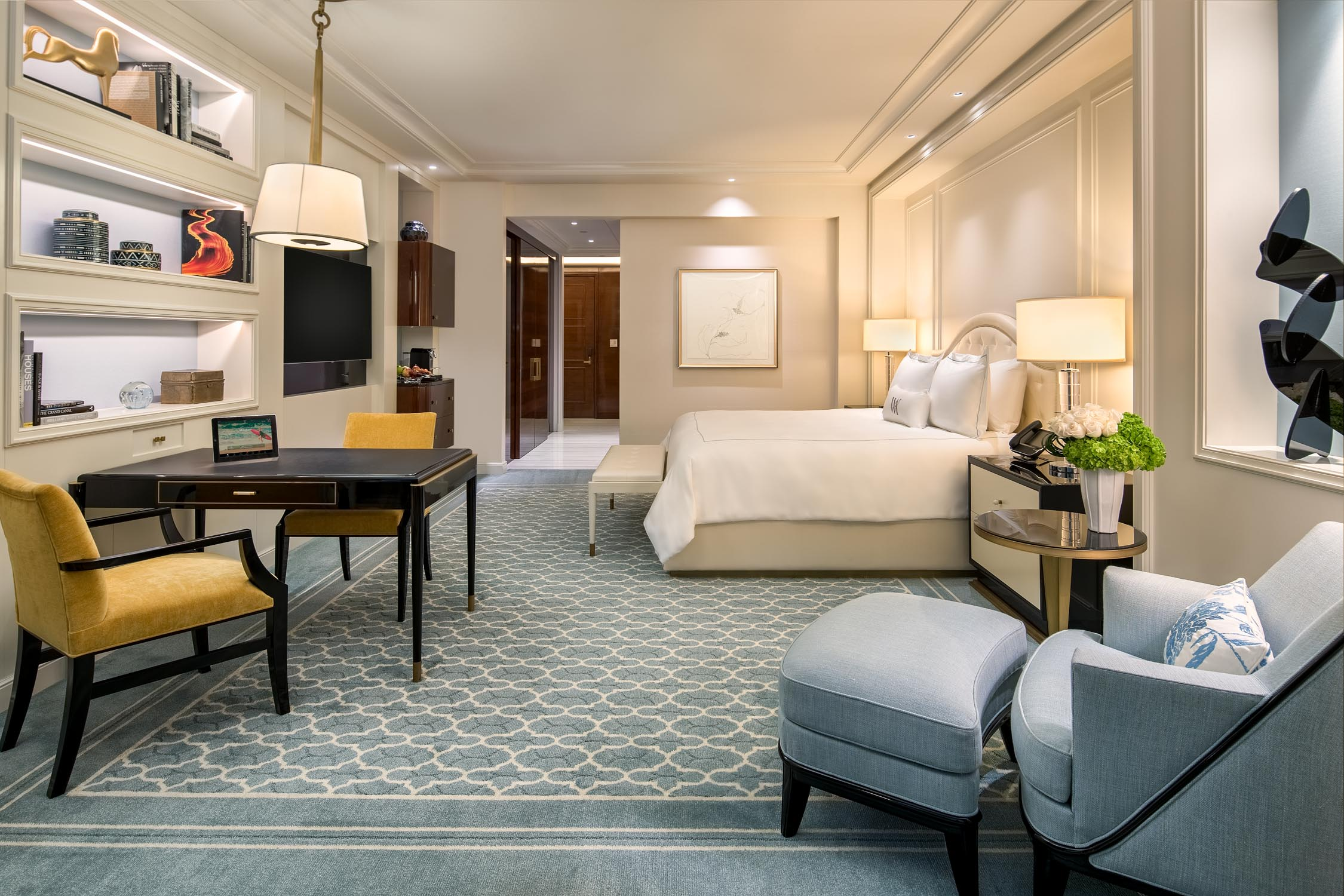A peek inside the new Waldorf Astoria Beverly Hills, where ...