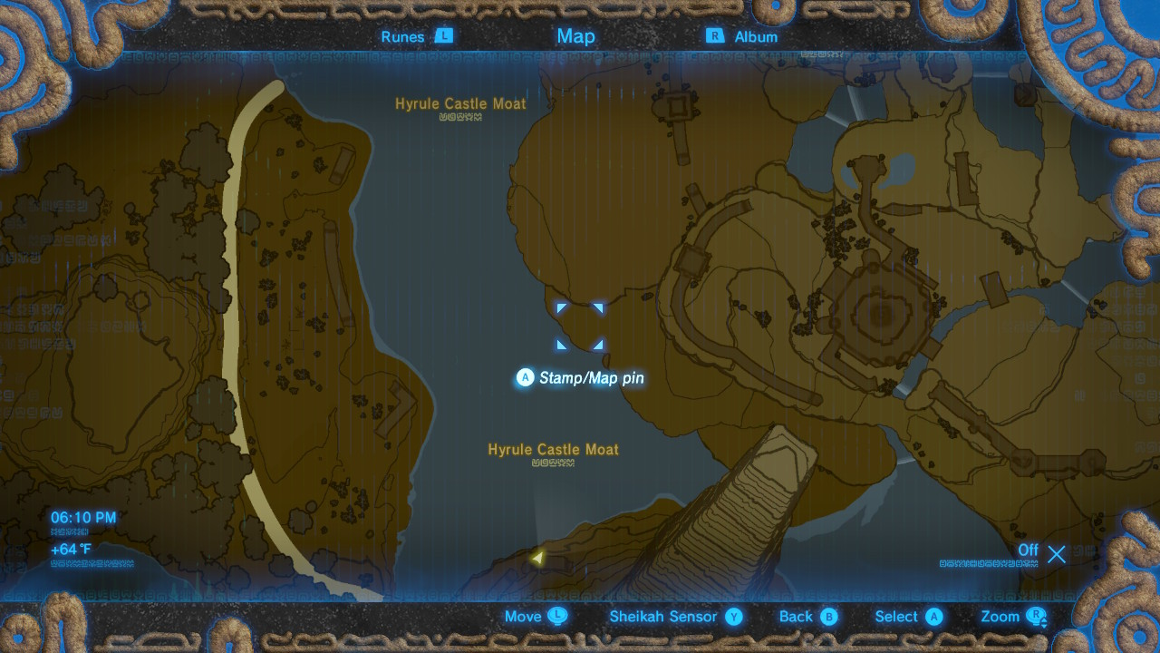 Zelda Breath Of The Wild Guide How To Get The Hylian Shield - 3d map of prisons in us